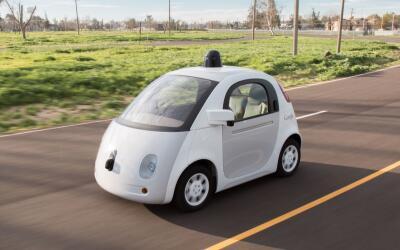 Vehículo autónomo de Google