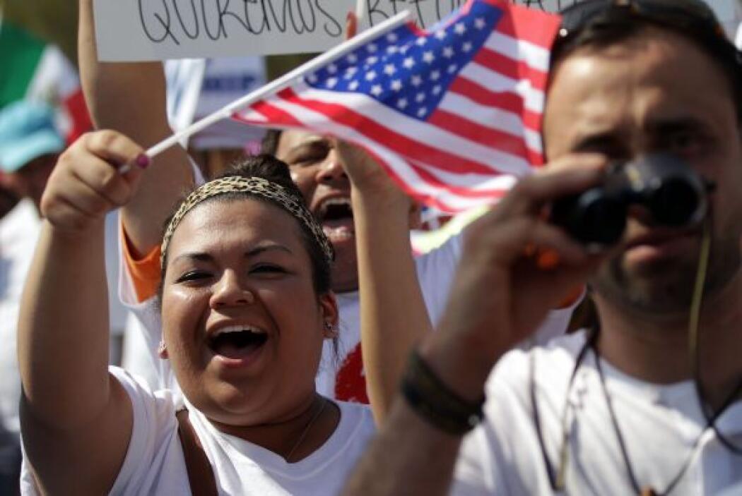 El Congreso se encuentra en receso de verano pero inmigrantes y activist...