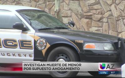 Policía investiga posible ahogamiento de menor