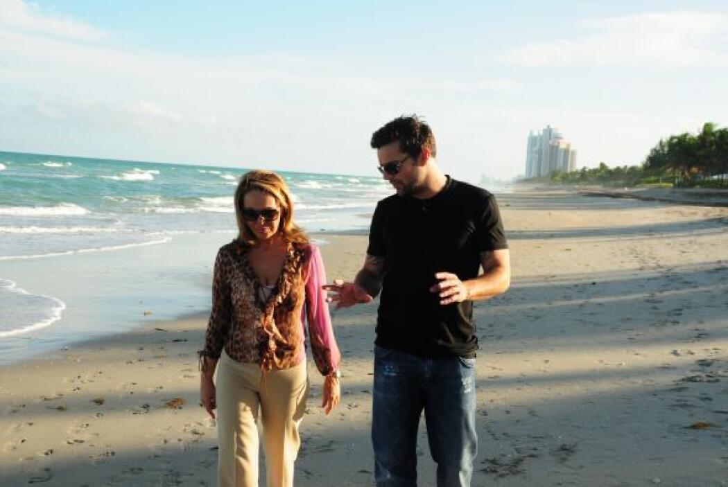 Otro pasaje de la entrevista de María Elena Salinas con Ricky Martin en...