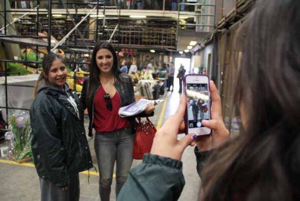 Fotos, fotos y más fotos con la presentadora de Despierta America...