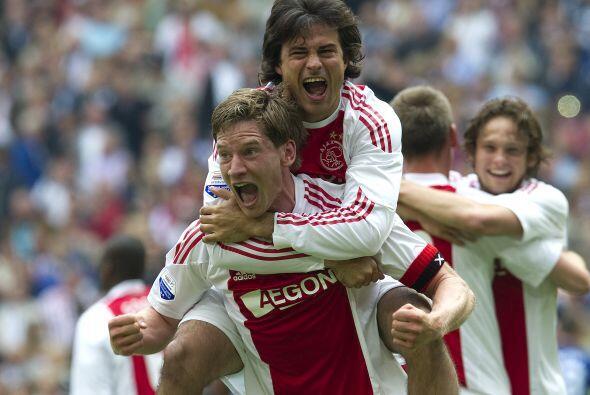 En el último juego ante el ADO Den Haag marcó un gol y ya acumula varios...