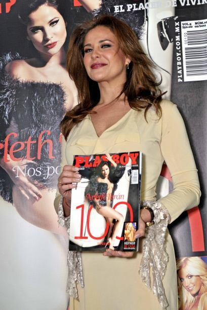 """Ya había posado para la """"Revista H Para Hombres"""" pero en """"Playboy"""" se de..."""