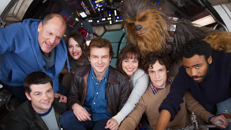 El elenco de 'Han Solo', el próximo filme de Star Wars.