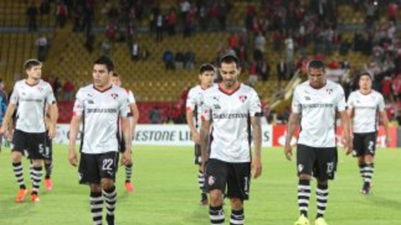 Atlas quedó en el último sitio de su grupo en Copa Libertadores.
