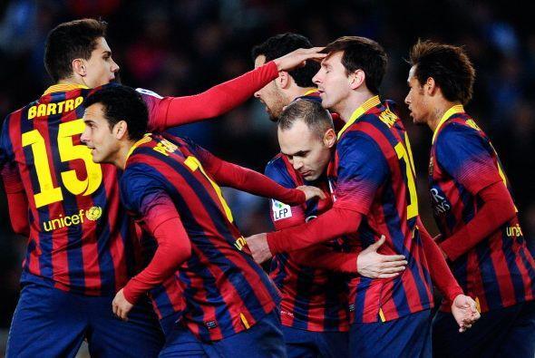 Barcelona parecía tener la potencia para voltear el partido.