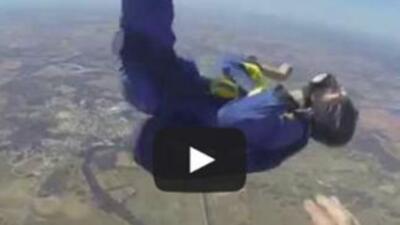 Man Skydiving Seizure