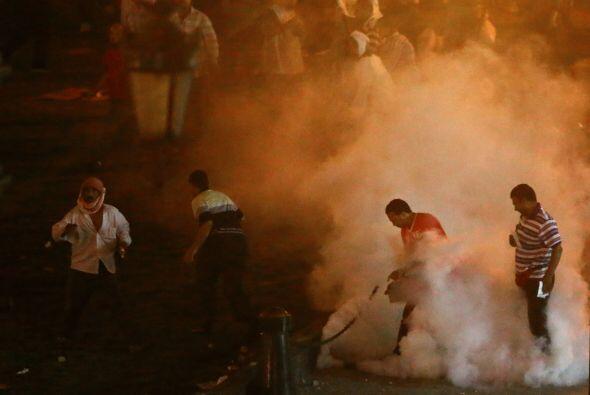 El mayor número de fallecidos se registró en los disturbios en la plaza...
