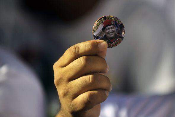 Y monedas de la suerte con el rostro de Hugo Chávez.