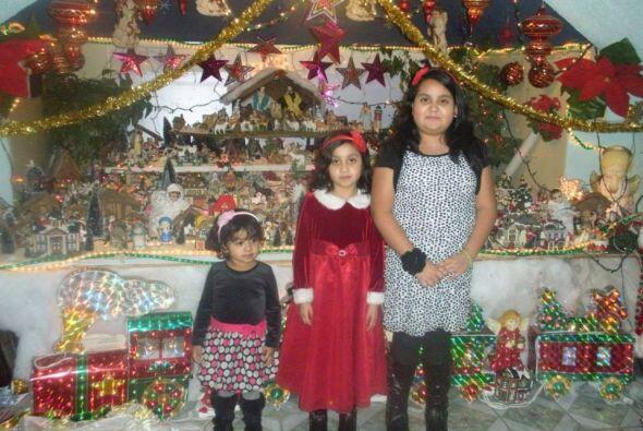 Markos Duran compartió una foto de sus hijas junto a gran nacimiento.
