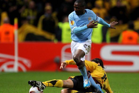 El Manchester City venía de un empate sin goles y recibió...