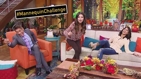 ¿Quién se movió primero? Ana, Johnny y Francisca en su #MannequinChallenge