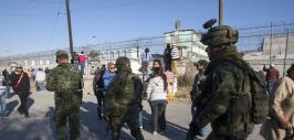 Motín en cárcel de México