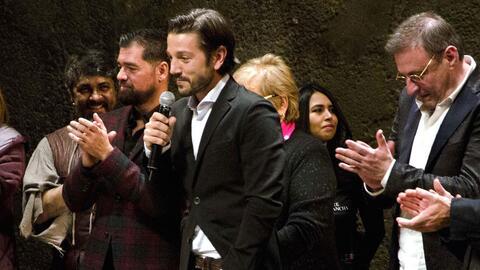 Diego Luna padrino de 'El Hombre de la Mancha'