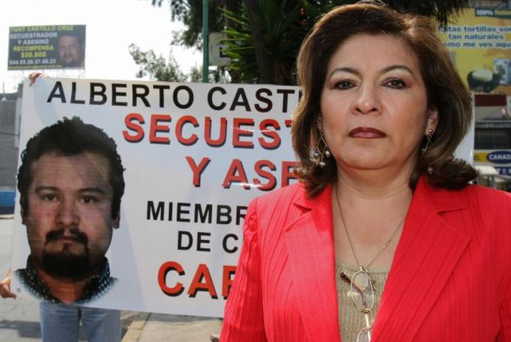 La activista mexicana Isabel Miranda de Wallace recibió el Premio Nacion...