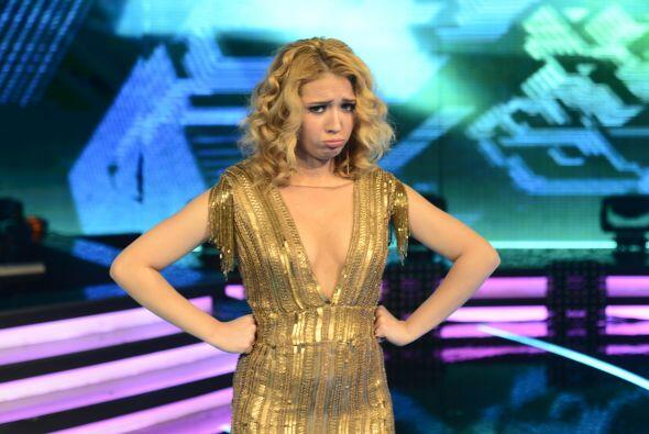 Al final del cuarto show, Paloma fue sentenciada al no ser salvada por e...