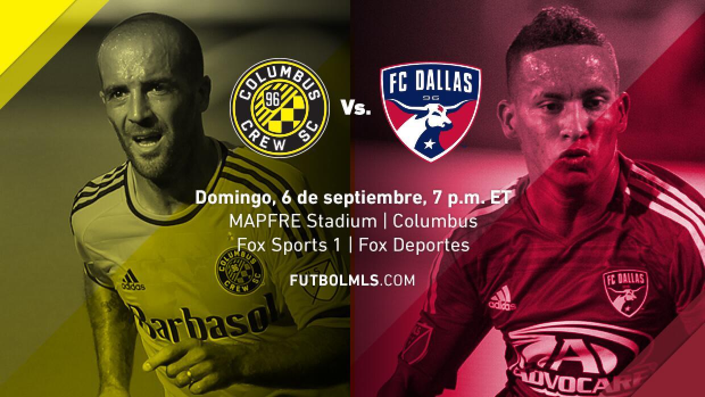 Columbus Crew vs. FC Dallas