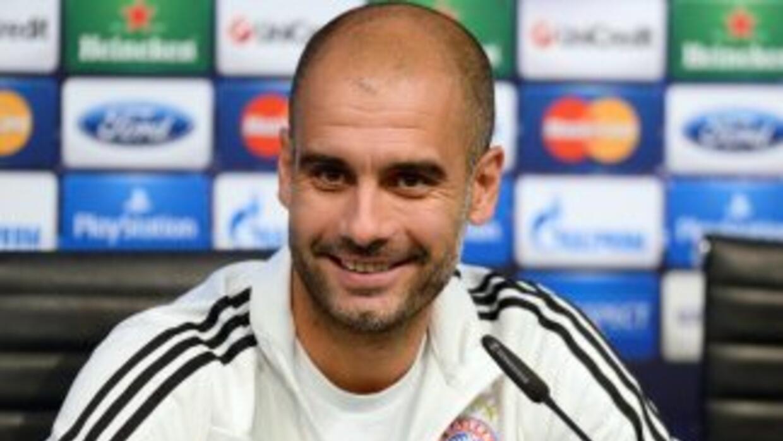 El juego que practica el Bayern tiene muy conforme a Pep.