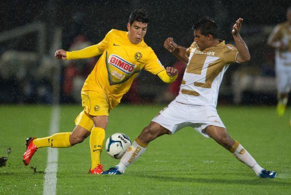 El mejor resultado de las Águilas fue la goleada ante Pumas por 4-1 en l...