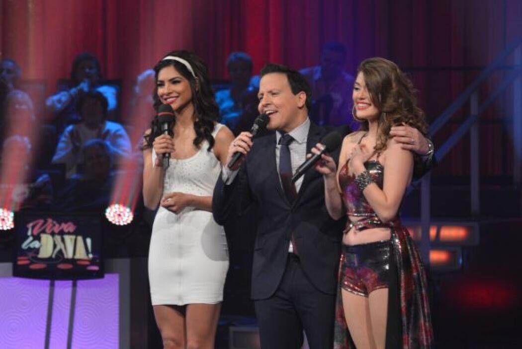 Alejandra Espinoza y Raúl González, los conductores de 'Diva Latina', es...