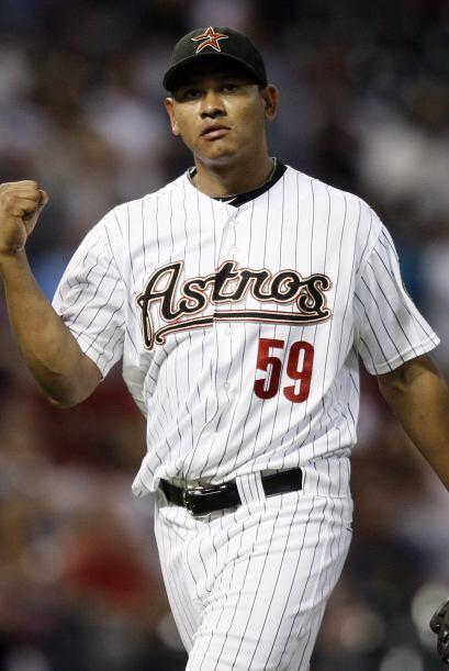 RP. Wilton López. Astros de Houston. El relevista nicaraguense vi...