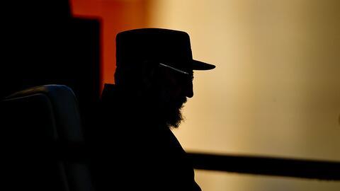 Fidel Castro en una intervención en la Universidad de La Habana en septi...