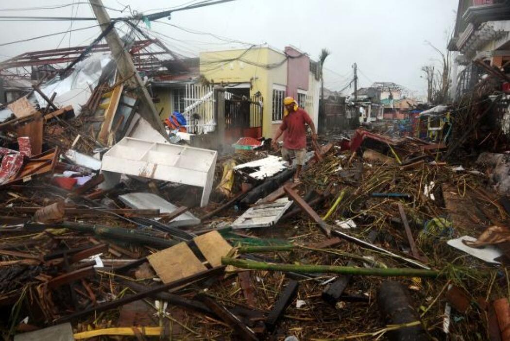 viviendas completamente destruidas, carreteras intransitables por el gra...