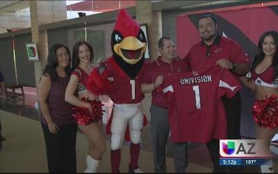 Los Cardenales y Univisión Arizona hacen historia
