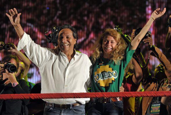 Por su parte, Alejandro Toledo hizo énfasis en la encrucijada a la que s...