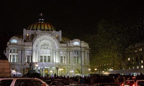 El último adiós a Gabo fue en el majestuoso Palacio de Bellas Artes en l...