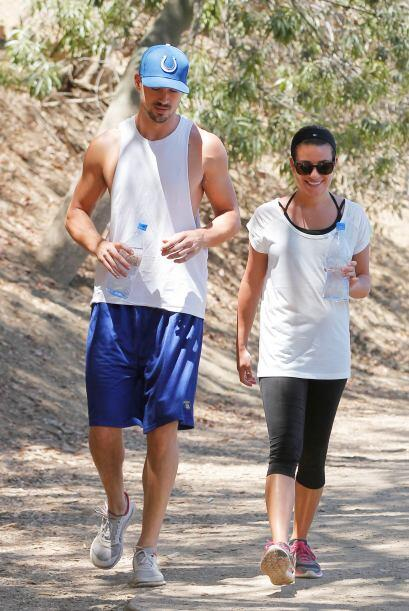 La actriz y cantante disfrutó de una tarde soleada, ideal para correr po...