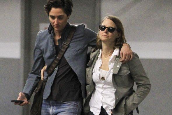 La actriz norteamericana fue captada en compañía de Alexandra Hedison en...
