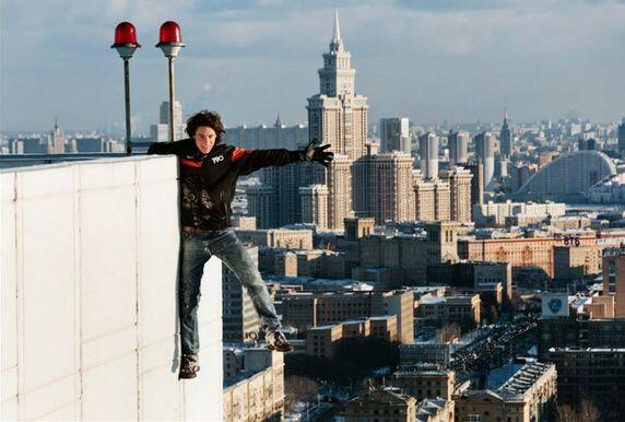 Ha llegado a subir a la Torre Mercury en Moscú, la más gra...