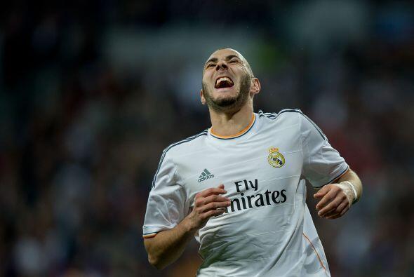 El poderoso Karim Benzema suma 15 goles en lo que va de 2014. El franc&e...