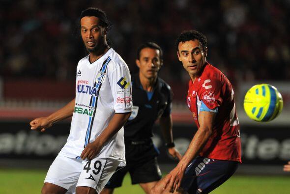 Ronaldinho es un elemento que puede inclinar la balanza para Querétaro,...