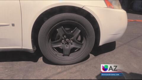 No tener llantas del auto en buenas condiciones puede ser fatal