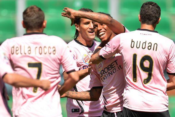 Abel Hernández fue el primero en marcar, esto para el Palermo.