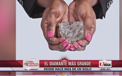 El diamante más grande en más de un siglo