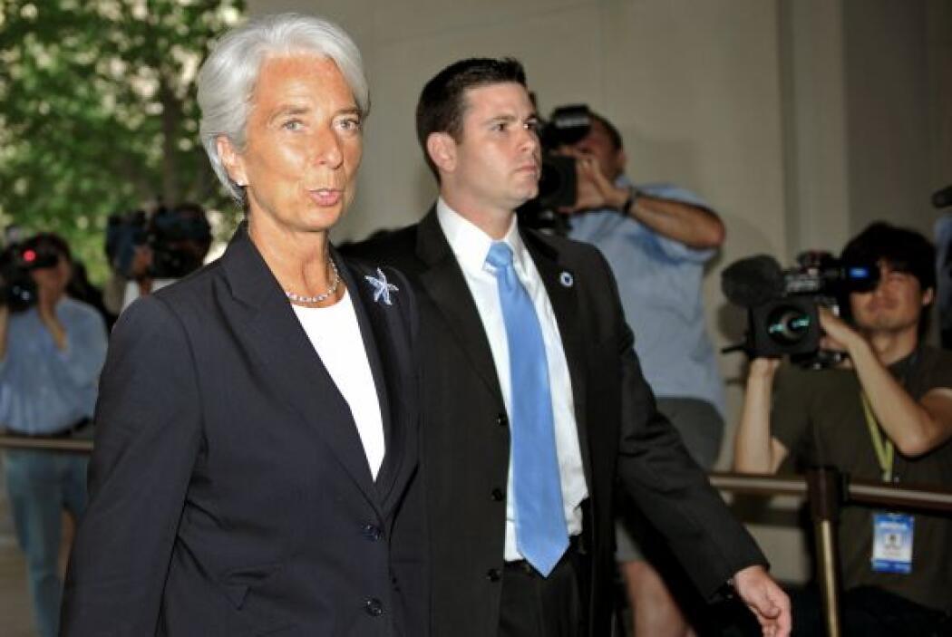 Además, la Junta Directiva indicó que el FMI reembolsará a Christine Lag...