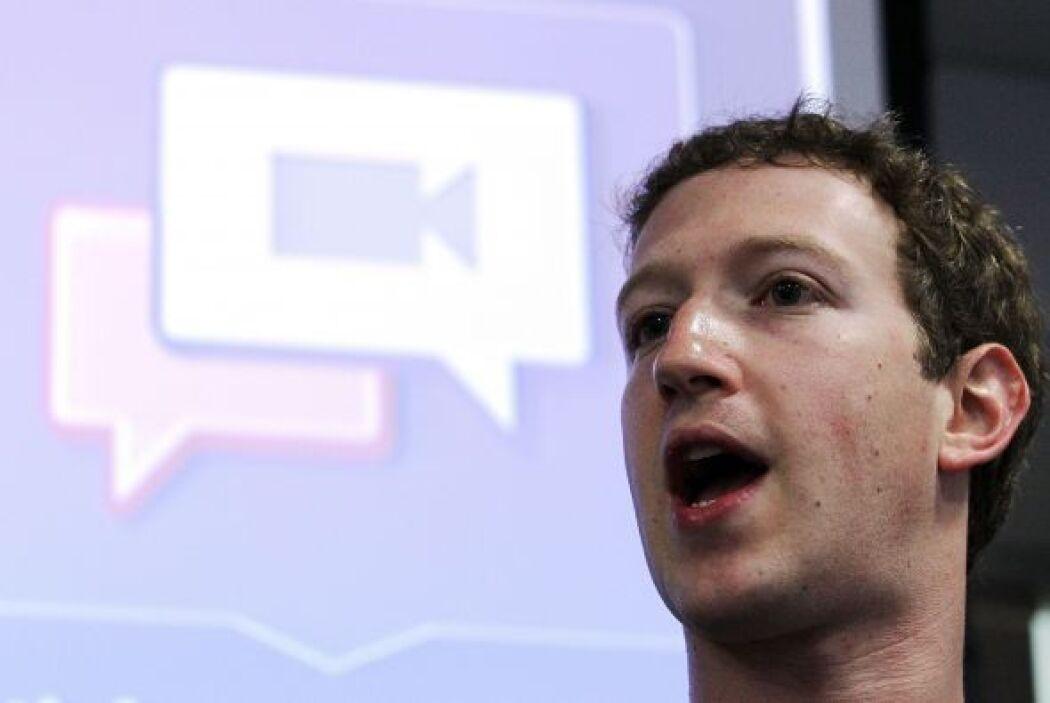 Zuckerberg ya forma parte de los 20 hombres más ricos del mundo. Desde 2...