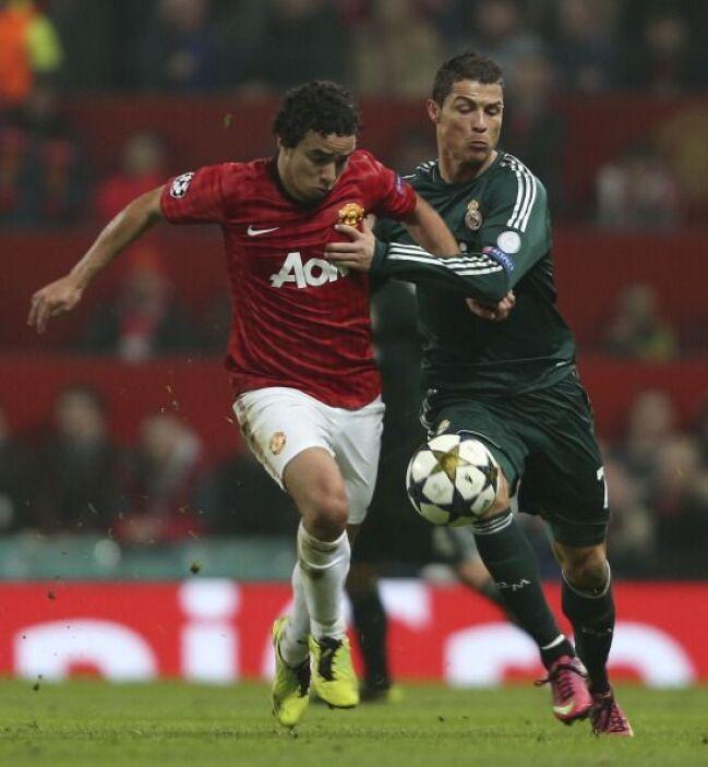 Rafael tuvo la misión de detener a Cristiano Ronaldo.