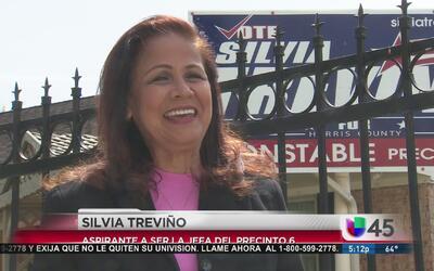 Silvia Treviño habla de sus planes como jefe del precinto 6