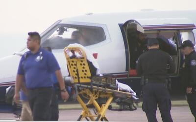 Una víctima de 13 años de la explosión de Tutelpec en México llega a Gal...