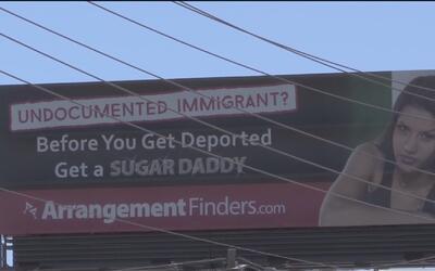 Vecinos rechazan valla publicitaria que sugiere a mujeres indocumentadas...