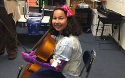 Tatiana Coletta, de nueve años y estudiante de cuarto de primaria...