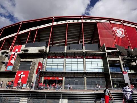 (Con información de EFE)  El estadio do Sport Lisboa e Benfica, h...