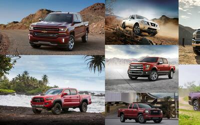En Estados Unidos se vendieron un total de 2.4 millones de pickups duran...
