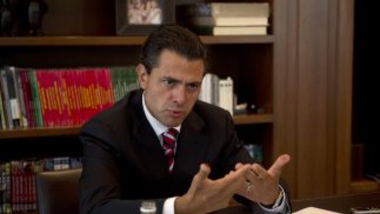 Enrique Peña Nieto, virtual presidente de México.