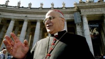 El cardenal José Saraiva Martin, exprefecto de la Congregación para las...