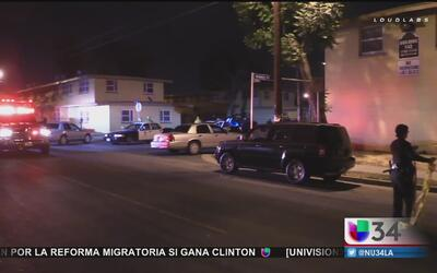 Batalla entre pandillas deja un muerto y un oficial herido